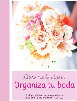 Libro-calendario organiza tu boda
