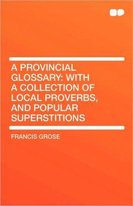 A Provincial Glossary