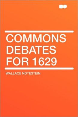 Commons Debates for 1629