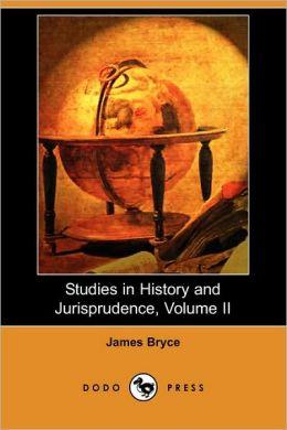Studies In History And Jurisprudence, Volume Ii