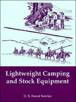 Lightweight Camping And Stock Equipment