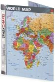 Book Cover Image. Title: World Map (SparkCharts), Author: SparkNotes Editors