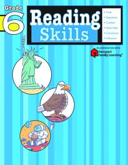 Reading Skills, Grade 6 (Flash Kids Reading Skills Series)