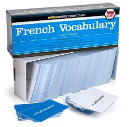 French Vocabulary (SparkNotes Study Cards)