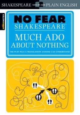 Much Ado About Nothing (No Fear Shakespeare Series)