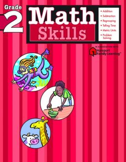 Math Skills: Grade 2 (Flash Kids Math Skills Series)