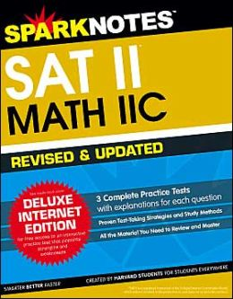 SAT II Math IIC - Updated & Revised (SparkNotes Test Prep)