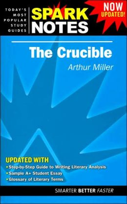 The Crucible (SparkNotes Literature Guide Series)