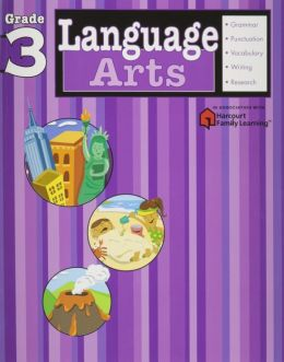 Language Arts, Grade 3 (Flash Kids Language Arts Series)