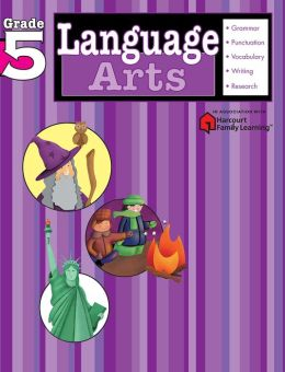 Language Arts, Grade 5 (Flash Kids Language Arts Series)