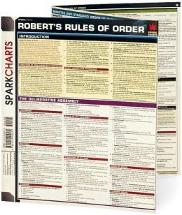 Robert's Rules of Order (SparkCharts)