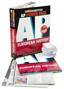 AP European History Power Pack (SparkNotes Test Prep)