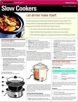 Slow Cookers (Quamut)