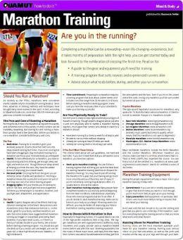 Marathon Training (Quamut)