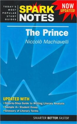 The Prince (SparkNotes Literature Guide)