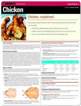 Chicken (Quamut)