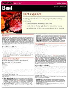 Beef (Quamut)