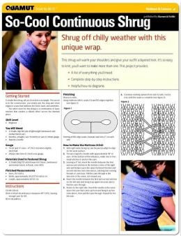 Knitting: So-Cool Continuous Shrug (Quamut)