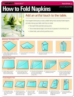 How to Fold Napkins (Quamut)