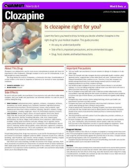 Clozapine (Quamut)