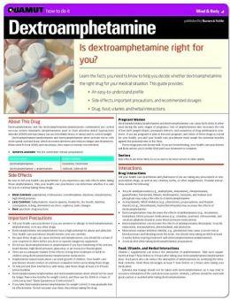 Dextroamphetamine (Quamut)