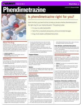 Phendimetrazine (Quamut)