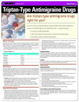 Triptan-type Antimigraine Drugs (Quamut)