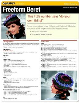 Crochet Project: Freeform Beret (Quamut)