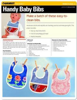 Sewing Project: Handy Baby Bibs (Quamut)