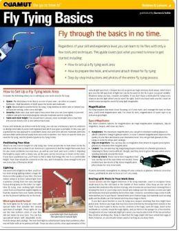 Fly Tying Basics (Quamut)
