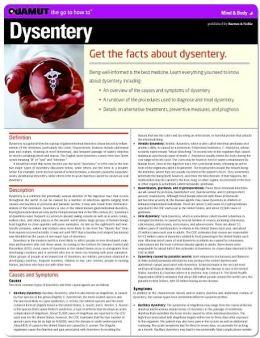 Dysentery (Quamut)