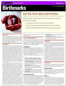 Birthmarks (Quamut)