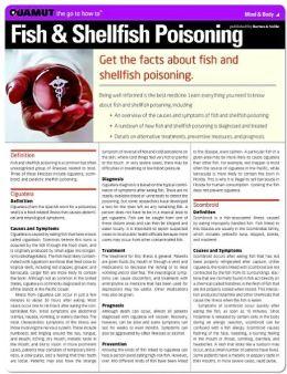 Fish and Shellfish Poisoning (Quamut)