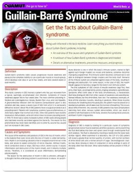 Guillain-Barre Syndrome (Quamut)
