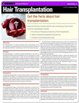 Hair Transplantation (Quamut)