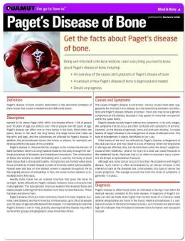 Paget's Disease of Bone (Quamut)