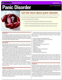 Panic Disorder (Quamut)