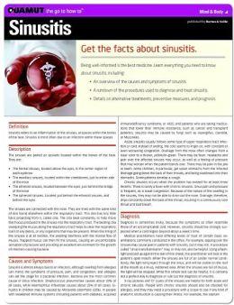 Sinusitis (Quamut)