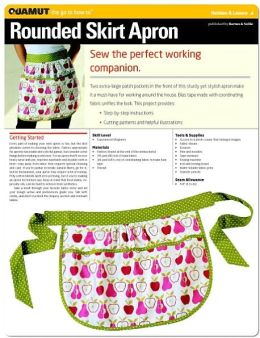 Sewing Project: Rounded Skirt Apron (Quamut)