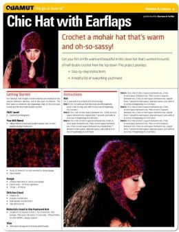 Crochet Project: Chic Hat with Earflaps (Quamut)
