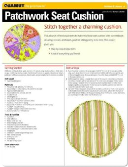 Sewing Project: Patchwork Seat Cushion (Quamut)