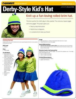 Knitting Project: Derby Style Kids Hat (Quamut)