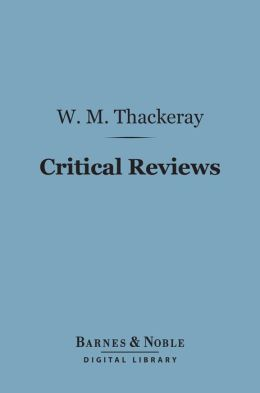 Critical Reviews (Barnes & Noble Digital Library)