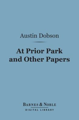 At Prior Park and Other Papers (Barnes & Noble Digital Library)