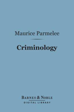 Criminology (Barnes & Noble Digital Library)