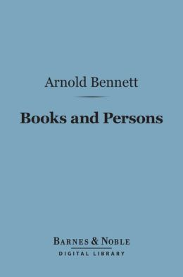 Books and Persons (Barnes & Noble Digital Library)