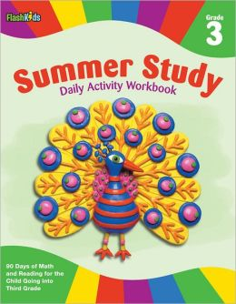 Summer Study Daily Activity Workbook: Grade 3 (Flash Kids Summer Study