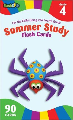 Summer Study Flash Cards Grade 4 (Flash Kids Summer Study