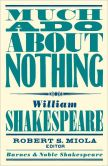 Book Cover Image. Title: Much Ado About Nothing (Barnes & Noble Shakespeare) (PagePerfect NOOK Book), Author: William Shakespeare