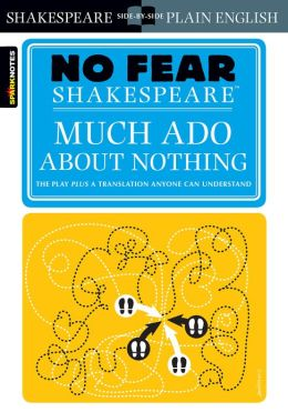 Much Ado About Nothing (No Fear Shakespeare) (PagePerfect NOOK Book)